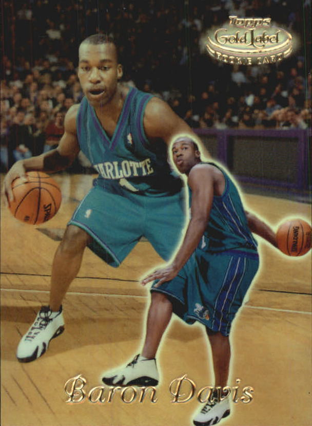 1999-00 Topps Gold Label Class 1 #88 Baron Davis RC