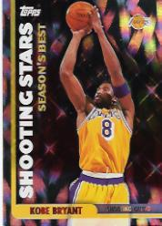 1999-00 Topps Season's Best #SB19 Kobe Bryant