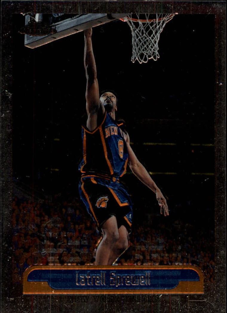 1999-00 Topps Chrome #13 Latrell Sprewell