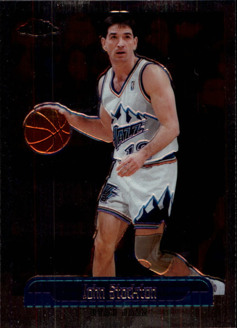 1999-00 Topps Chrome #25 John Stockton
