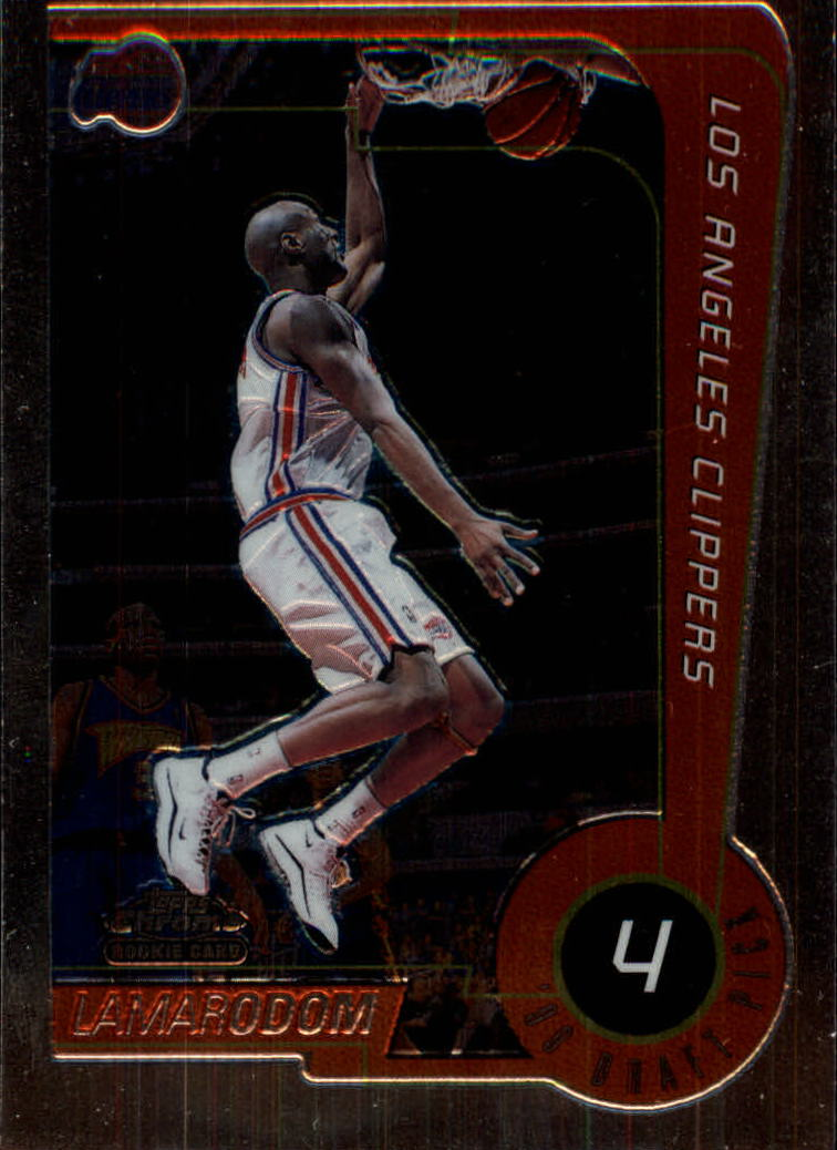 1999-00 Topps Chrome #231 Lamar Odom RC