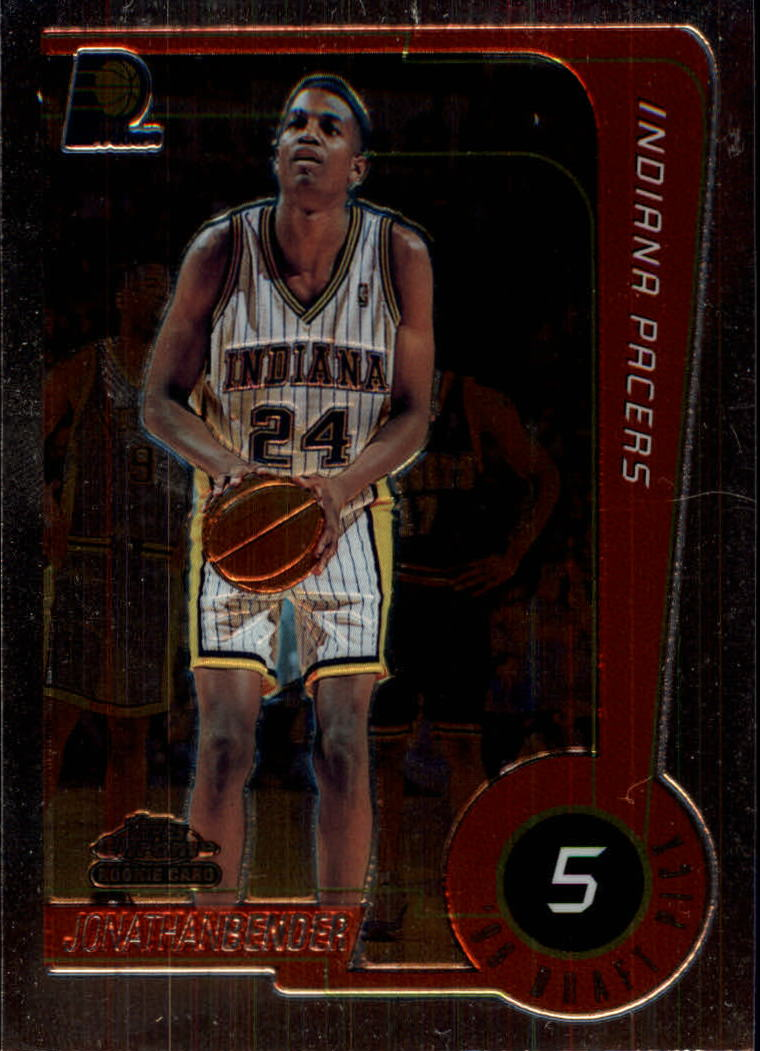 1999-00 Topps Chrome #232 Jonathan Bender RC