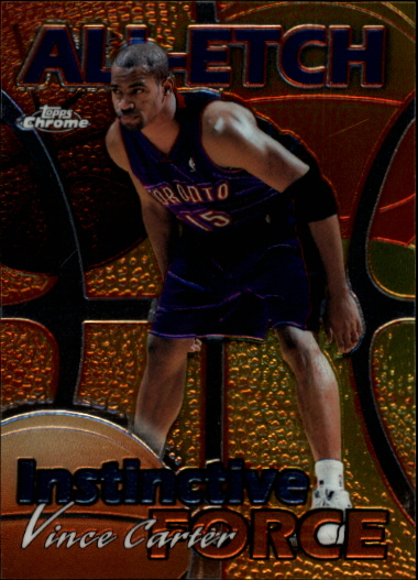 1999-00 Topps Chrome All-Etch #AE12 Vince Carter