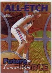 1999-00 Topps Chrome All-Etch #AE25 Lamar Odom
