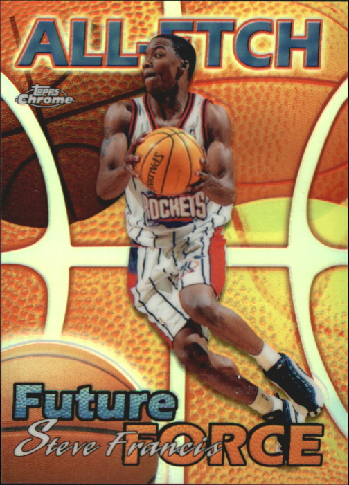 1999-00 Topps Chrome All-Etch Refractors #AE23 Steve Francis