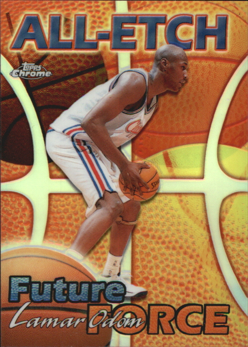 1999-00 Topps Chrome All-Etch Refractors #AE25 Lamar Odom