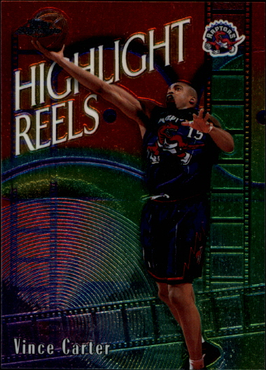 1999-00 Topps Chrome Highlight Reels #HR2 Vince Carter