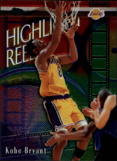 1999-00 Topps Chrome Highlight Reels #HR4 Kobe Bryant