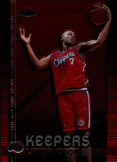 1999-00 Topps Chrome Keepers #K2 Lamar Odom