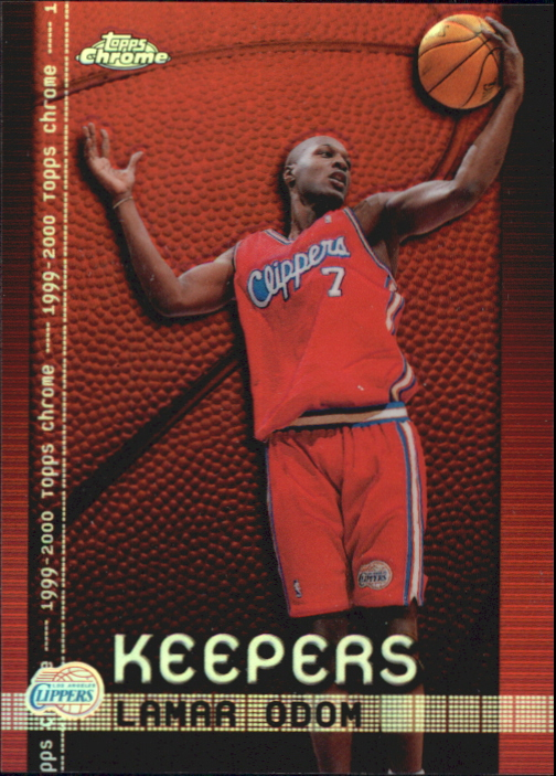 1999-00 Topps Chrome Keepers Refractors #K2 Lamar Odom