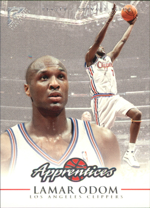 1999-00 Topps Gallery Player's Private Issue #126 Lamar Odom