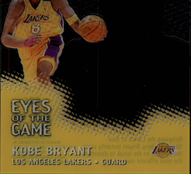 1999-00 Stadium Club Chrome Eyes of the Game #EG6 Kobe Bryant