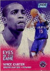 1999-00 Stadium Club Chrome Eyes of the Game Refractors #EG5 Vince Carter