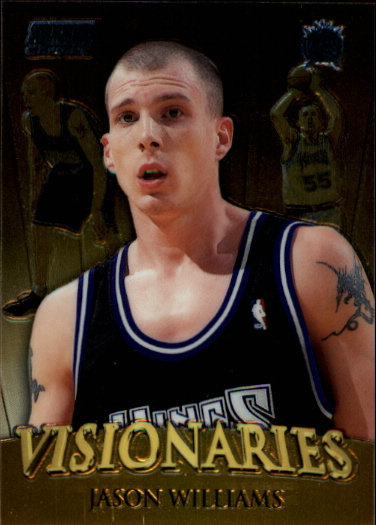 1999-00 Stadium Club Chrome Visionaries #V4 Lamar Odom