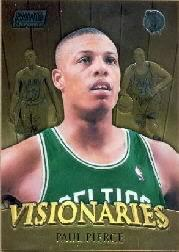 1999-00 Stadium Club Chrome Visionaries #V6 Paul Pierce