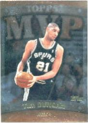 1999-00 Topps MVP Promotion Exchange #MVP16 Tim Duncan