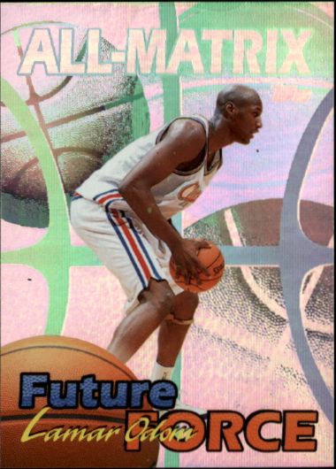 1999-00 Topps All-Matrix #AM25 Lamar Odom