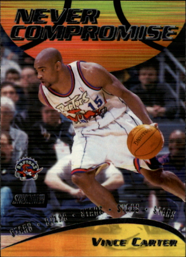 1999-00 Stadium Club Never Compromise #NC13 Vince Carter