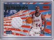 1999-00 Stadium Club Pieces of Patriotism #P3 Gary Payton