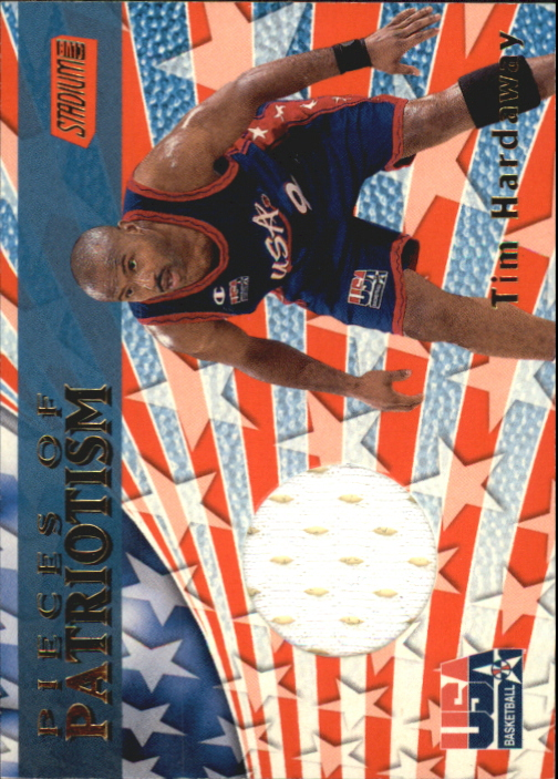 1999-00 Stadium Club Pieces of Patriotism #P5 Tim Hardaway