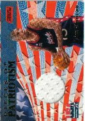 1999-00 Stadium Club Pieces of Patriotism #P6 Tim Duncan
