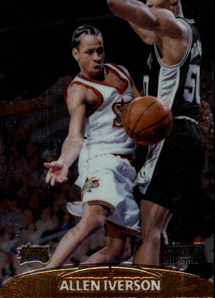 1999-00 Stadium Club Chrome #1 Allen Iverson