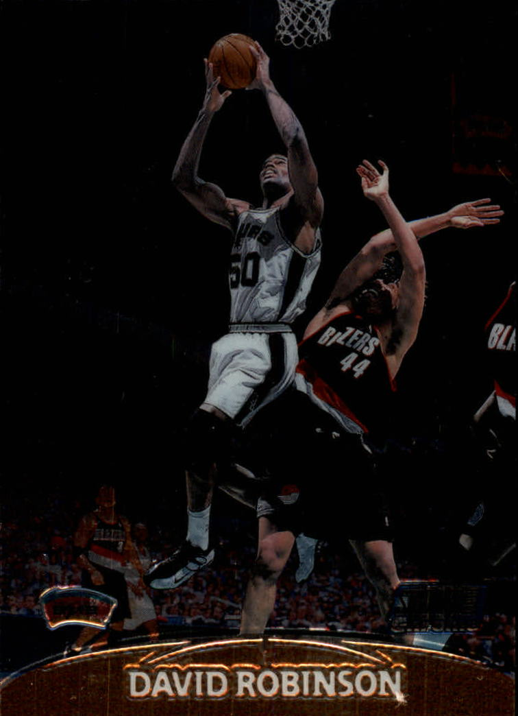 1999-00 Stadium Club Chrome #23 David Robinson