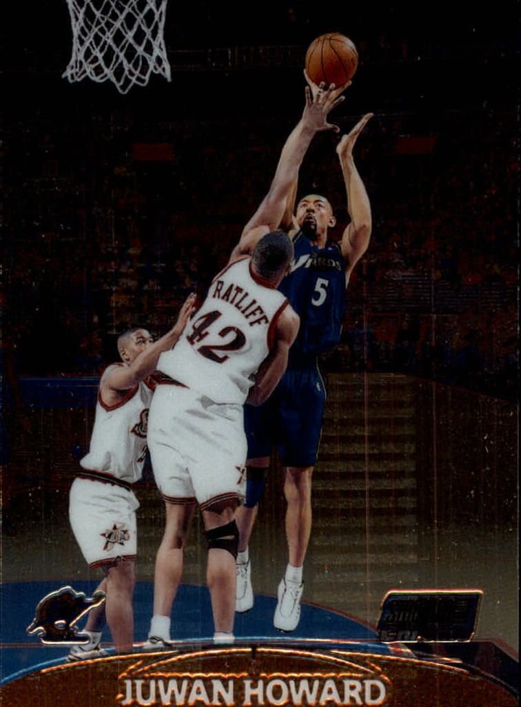 1999-00 Stadium Club Chrome #25 Juwan Howard