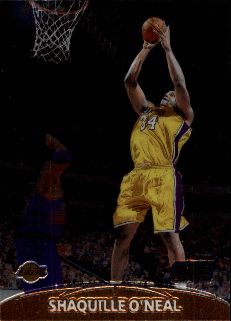 1999-00 Stadium Club Chrome #26 Shaquille O'Neal