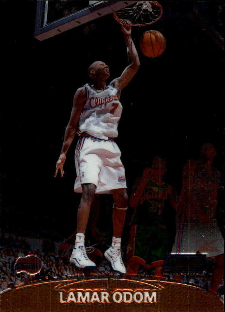 1999-00 Stadium Club Chrome #135 Lamar Odom RC
