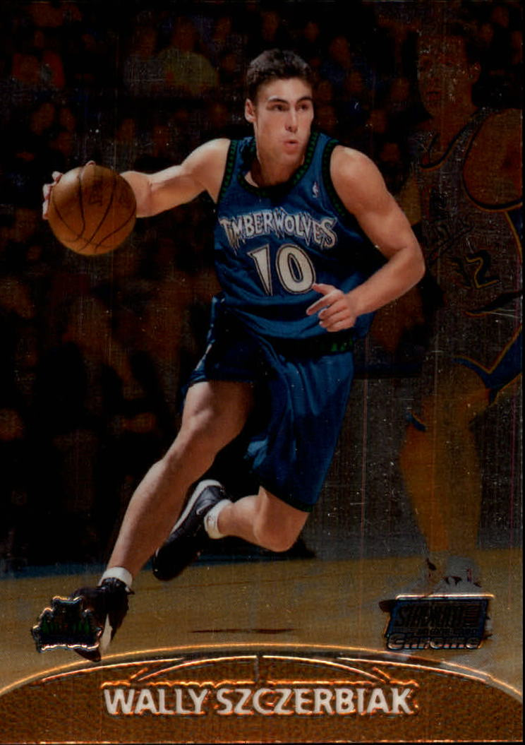 1999-00 Stadium Club Chrome #137 Wally Szczerbiak RC