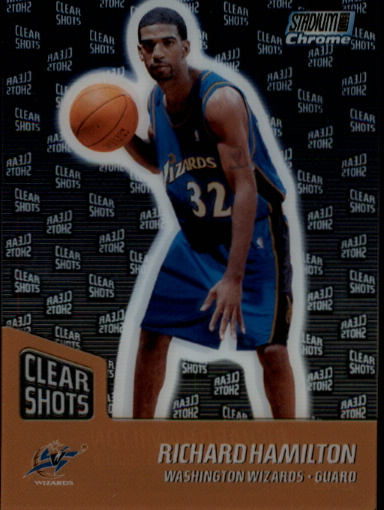 1999-00 Stadium Club Chrome Clear Shots #CS6 Richard Hamilton