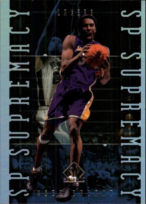 1999-00 SP Authentic Supremacy #S8 Kobe Bryant