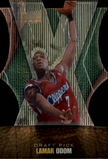 1999-00 Stadium Club 3x3 #9B Lamar Odom