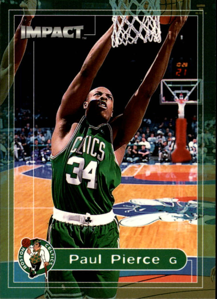 1999-00 SkyBox Impact #4 Paul Pierce