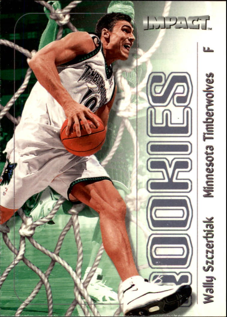 1999-00 SkyBox Impact #180 Wally Szczerbiak RC