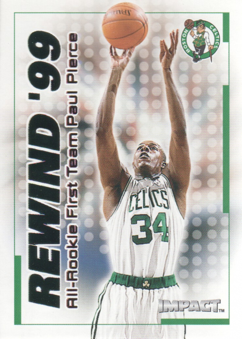 1999-00 SkyBox Impact Rewind '99 #RN31 Paul Pierce
