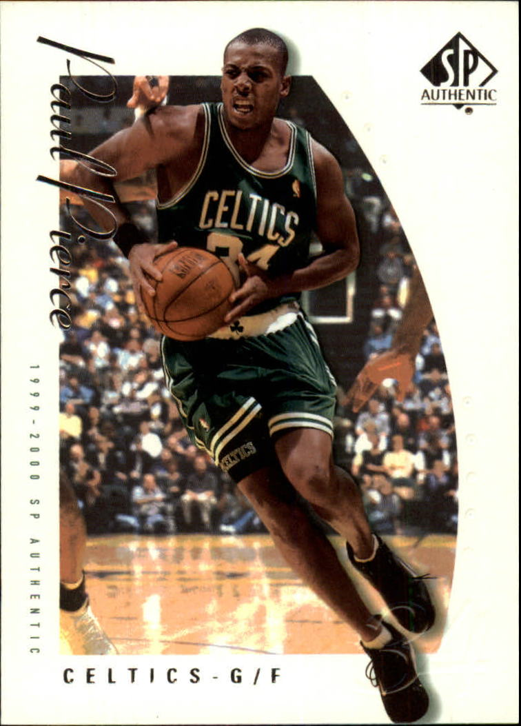 1999-00 SP Authentic #5 Paul Pierce