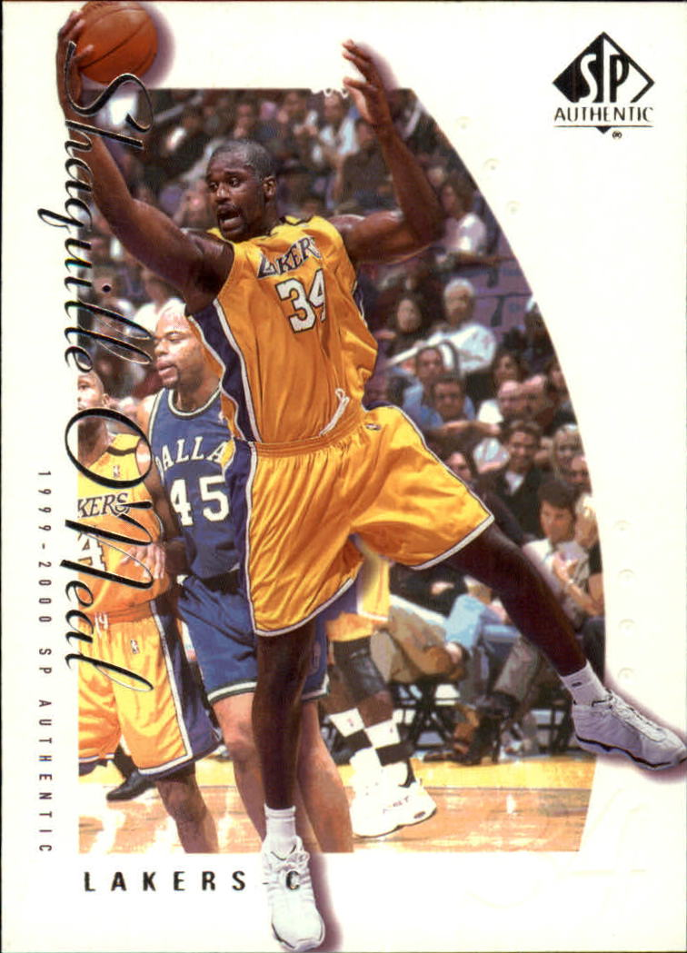 1999-00 SP Authentic #39 Shaquille O'Neal