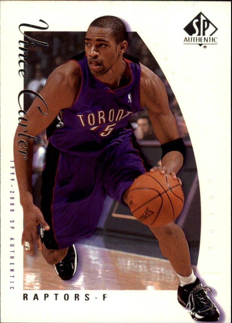 1999-00 SP Authentic #79 Vince Carter