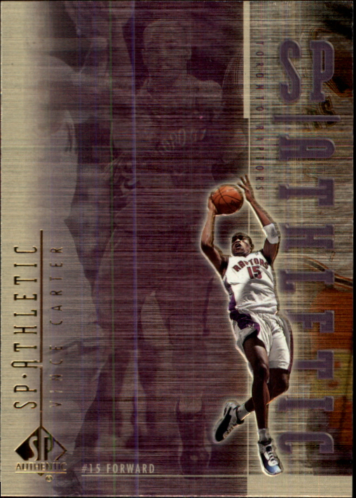 1999-00 SP Authentic Athletic #A4 Vince Carter