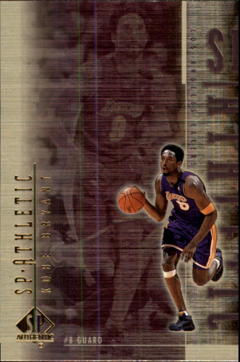 1999-00 SP Authentic Athletic #A8 Kobe Bryant
