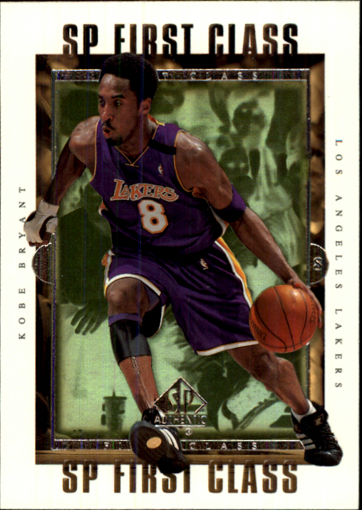 1999-00 SP Authentic First Class #FC2 Kobe Bryant