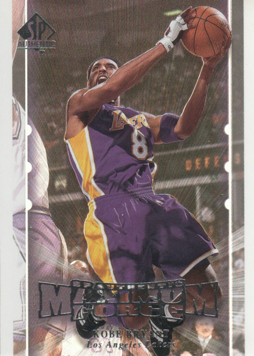 1999-00 SP Authentic Maximum Force #M8 Kobe Bryant