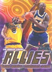 1999-00 SkyBox APEX Allies #1 Kobe Bryant/Shaquille O'Neal