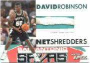 1999-00 SkyBox APEX Net Shredders #10 David Robinson