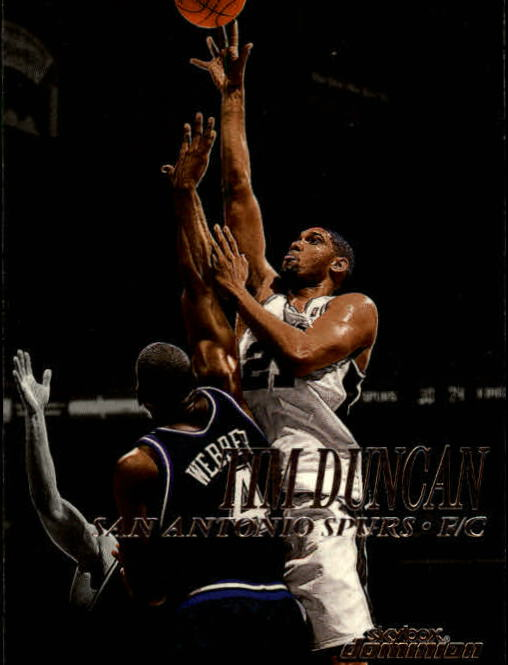 1999-00 SkyBox Dominion #42 Tim Duncan