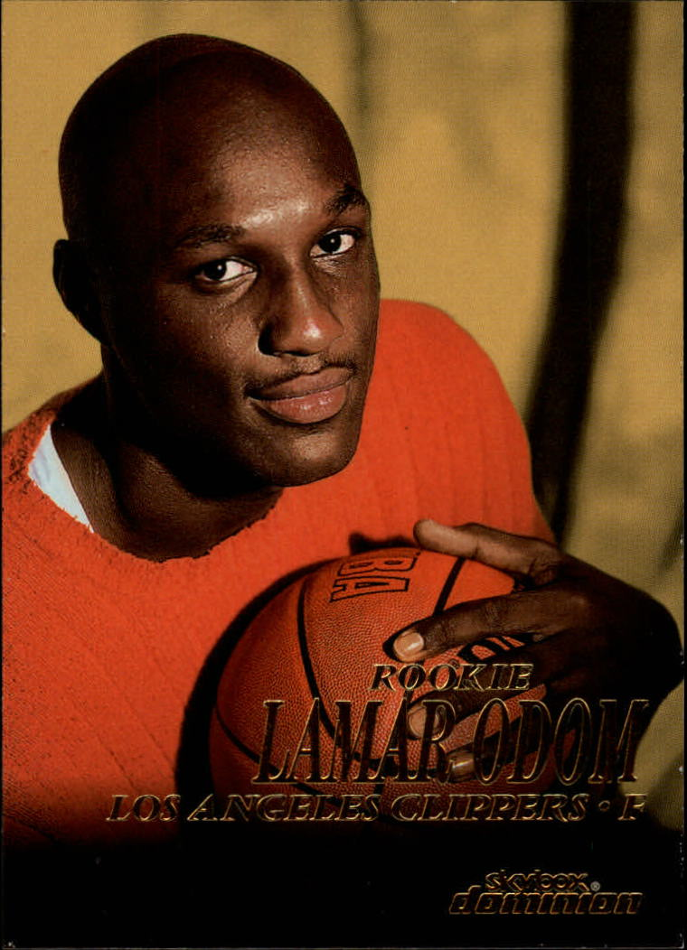 1999-00 SkyBox Dominion #203 Lamar Odom RC