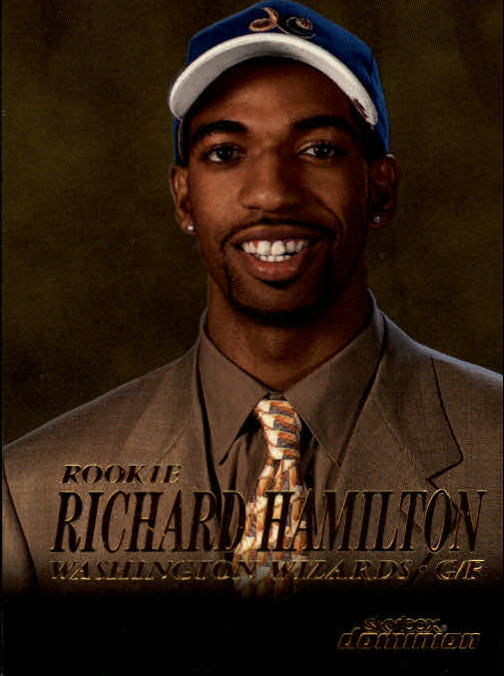 1999-00 SkyBox Dominion #214 Richard Hamilton RC