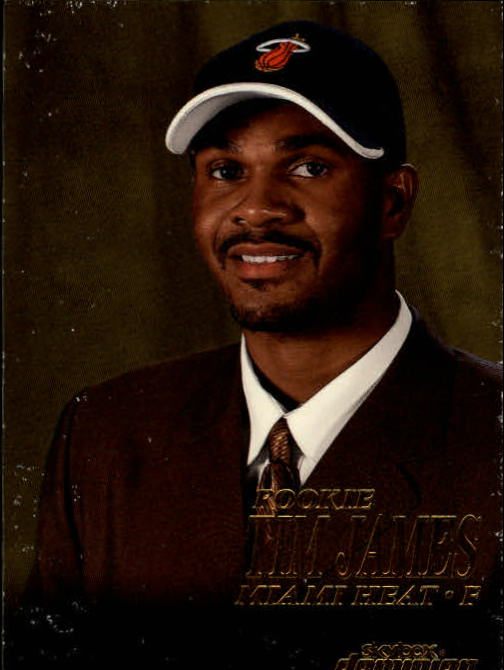 1999-00 SkyBox Dominion #218 Tim James RC